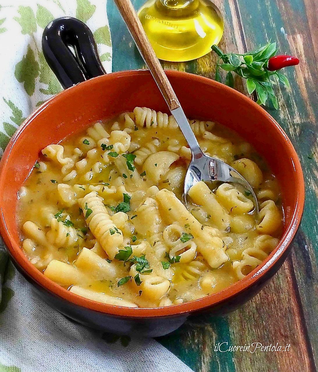 pasta e patate ricetta
