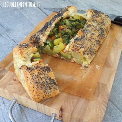 Preferenza Pasta sfoglia con patate e salmone affumicato - Ricette di cucina  HX58