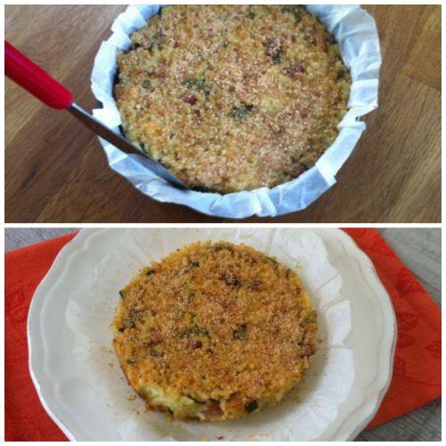sformare timballo di riso