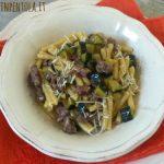 Caserecce salsiccia e zucchine