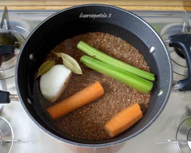 cuocere lenticchie