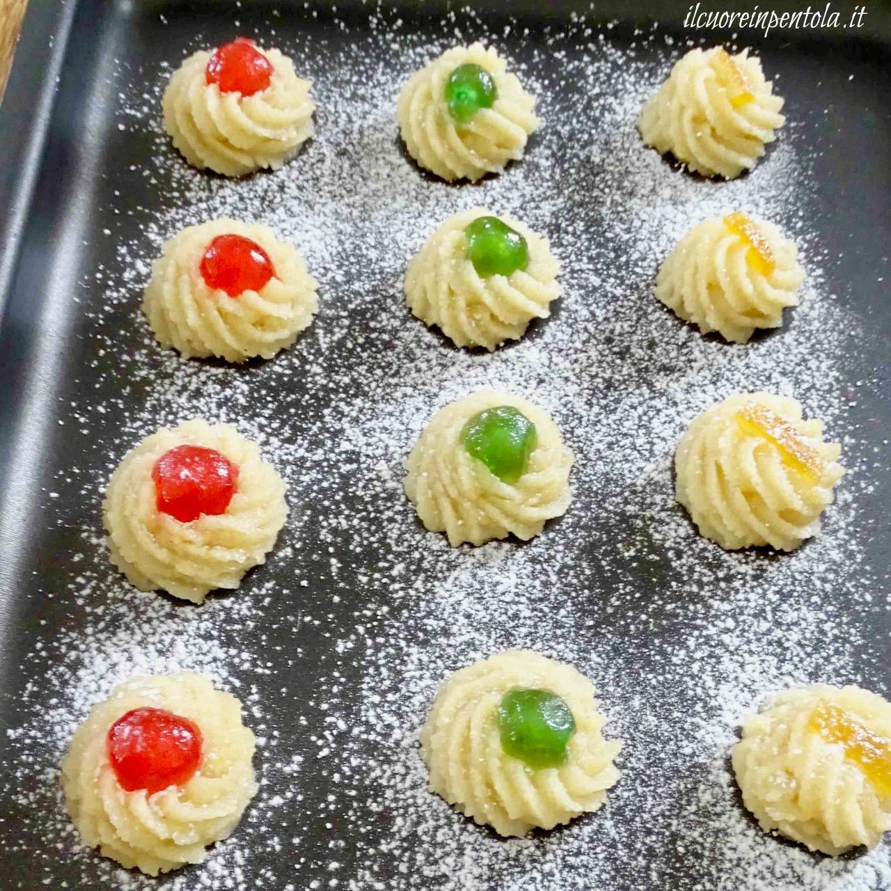 decorare dolcetti