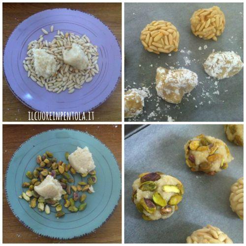 pasticcini-di-mandorle-con-pinoli-e-pistacchi