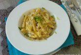 Pasta con baccalà mantecato
