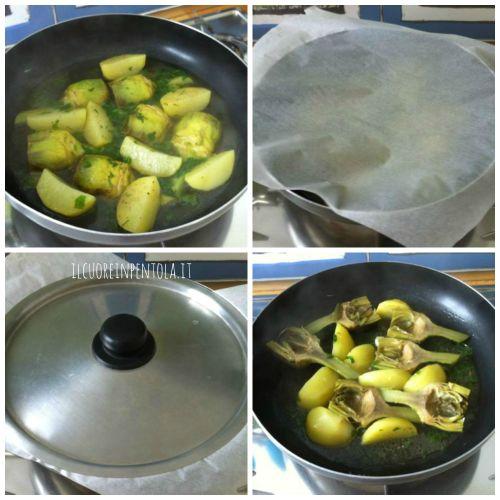 carciofi-in-umido-con-patate-cucinare