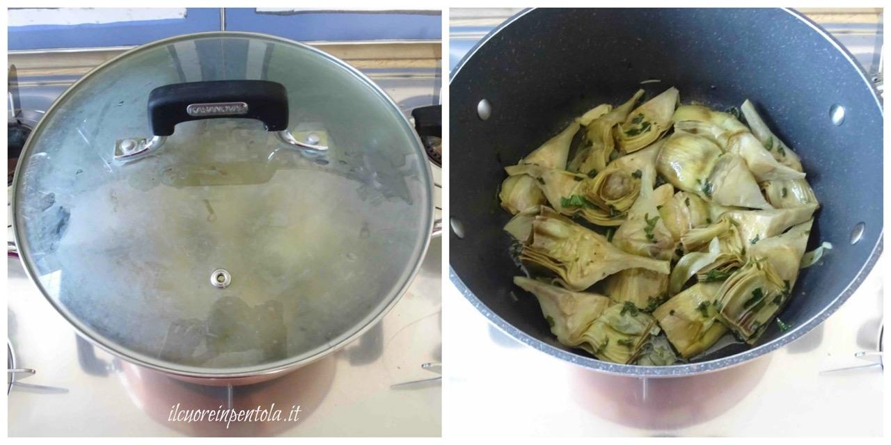 cuocere carciofi