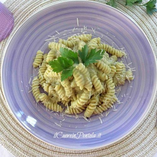 pasta con crema di carciofi ricetta