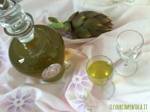 liquore-al-carciofo-ricetta