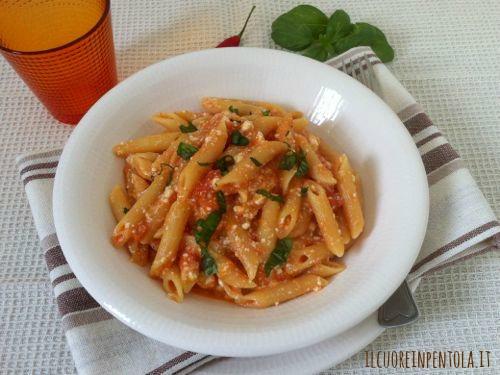 pasta-pomodoro-fresco-ricotta