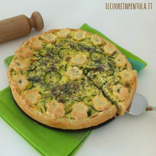 crostata_salata_ricotta_salsiccia_e_zucchine