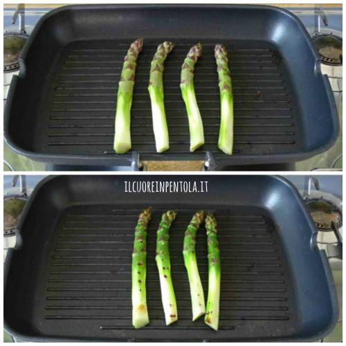 grigliare asparagi