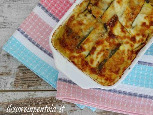 Parmigiana Di Zucchine Bianca Ricette Di Cucina Il Cuore In Pentola