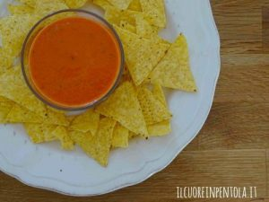Salsa al pomodoro per nachos