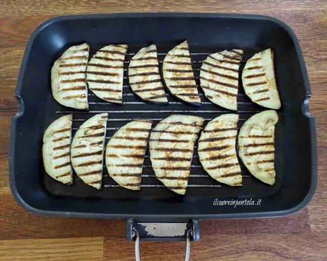 grigliare melanzane