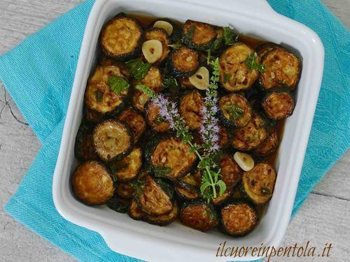 zucchine alla scapece ricette di cucina con foto