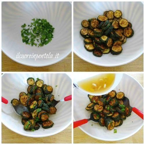 condire zucchine