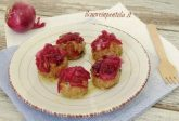 Polpette con cipolle rosse in agrodolce