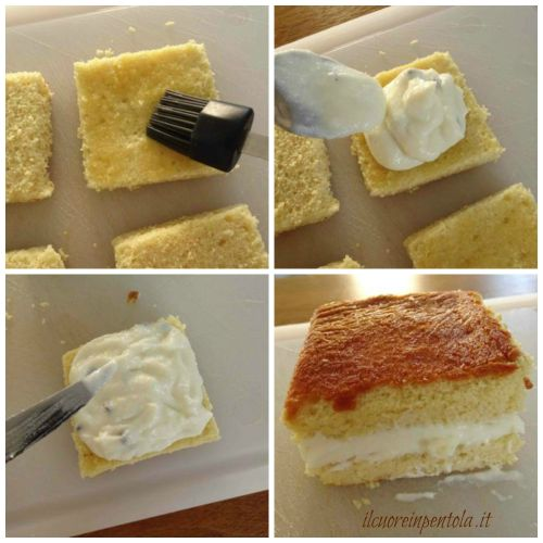 farcire torta con ricotta