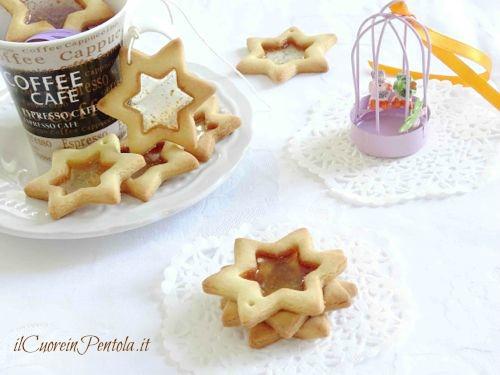 biscotti di vetro ricetta