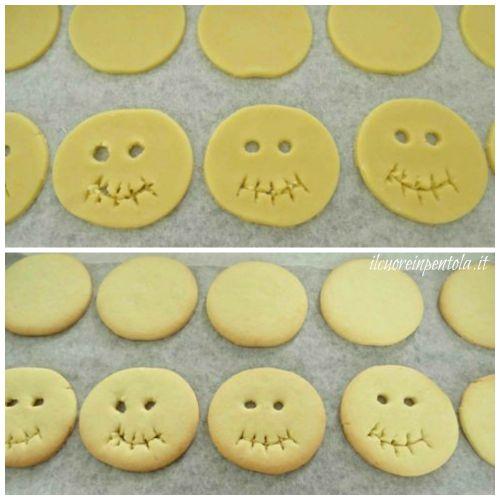 cuocere biscotti in forno