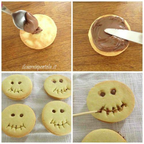 farcire biscotti con nutella