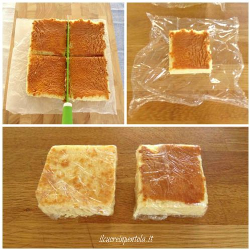 congelare il pan di spagna