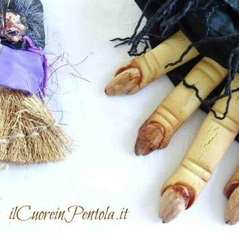 dita di strega biscotti