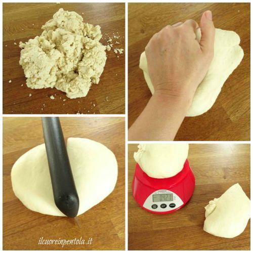 preparare pasta brioche