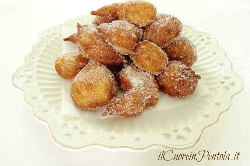 frittelle di ricotta dolci