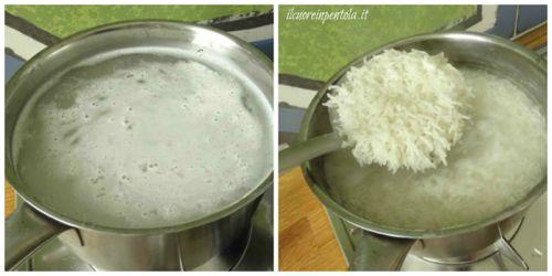 cuocere riso basmati per bollitura