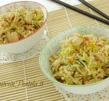 riso basmati con pollo e verdure ricetta