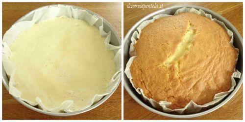 cottura torta al latte caldo