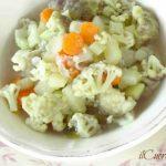 zuppa di cavolfiore e patate ricetta