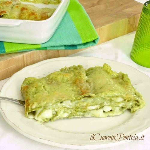 lasagne al pesto ricetta