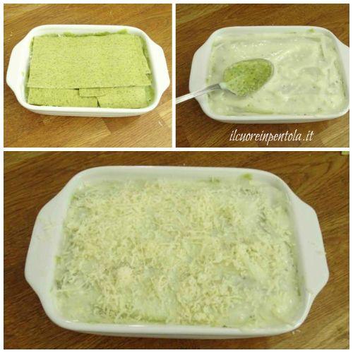 ultimo strato lasagne al pesto
