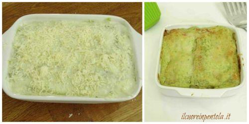 nfornare lasagne al pesto