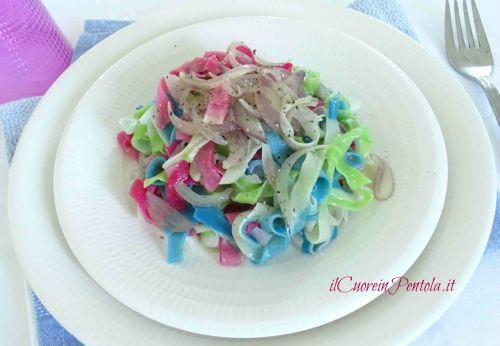 pasta fresca colorata ricetta