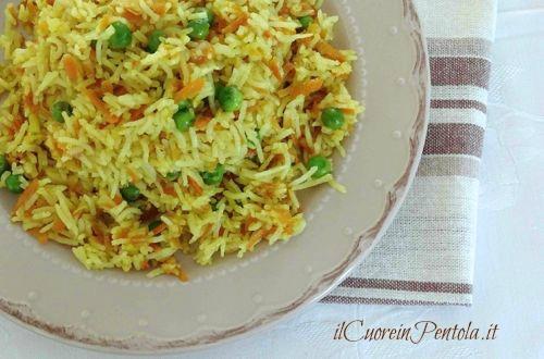 riso all'orientale ricetta