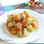 zucca e patate al forno ricetta