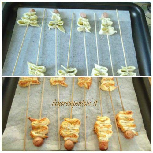 cuocere alberelli in forno