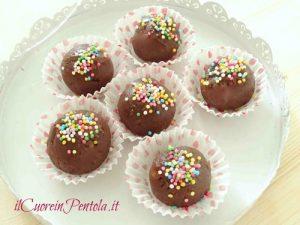 Cioccolatini con pandoro