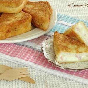 crostini prosciutto e formaggio ricetta