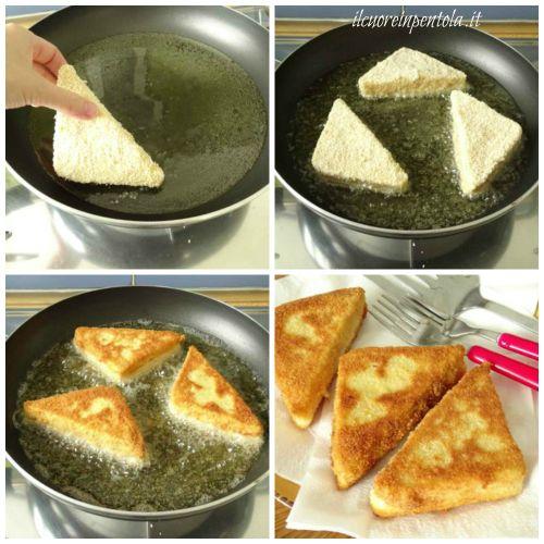 friggere crostini
