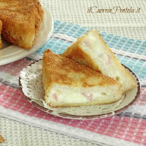 crostini prosciutto e formaggio