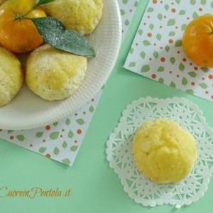 biscotti morbidi al mandarino ricetta