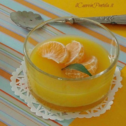 gelo di mandarino ricetta