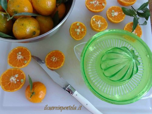 spremere mandarini