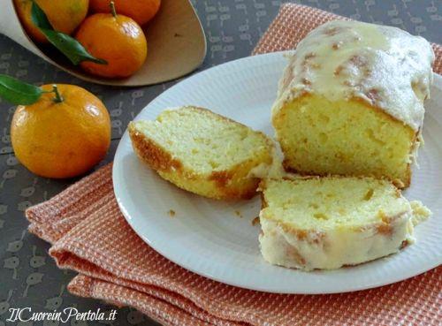 plumcake al mandarino ricetta