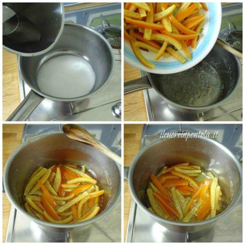 candire scorzette di arancia 2 passaggio