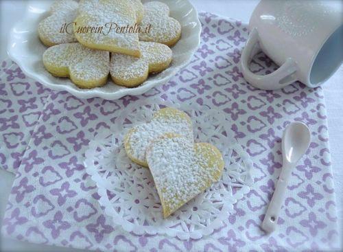 iscotti di pasta frolla senza glutine